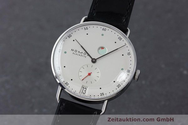 NOMOS METRO STEEL MANUAL WINDING KAL. DUW4401 LP: 2880EUR [163338]
