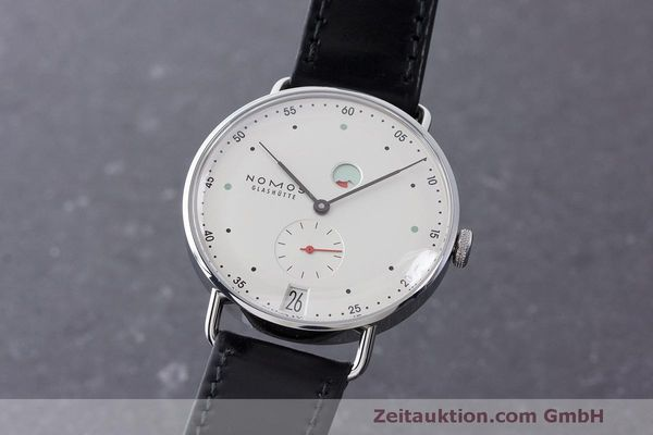 NOMOS METRO STEEL MANUAL WINDING KAL. DUW4401 LP: 2880EUR [163355]
