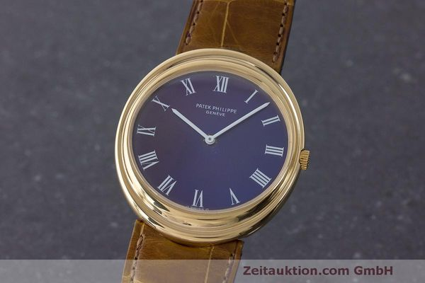 PATEK PHILIPPE ELLIPSE 18 CT GOLD AUTOMATIC KAL. 28-255 LP: 22140EUR [163373]