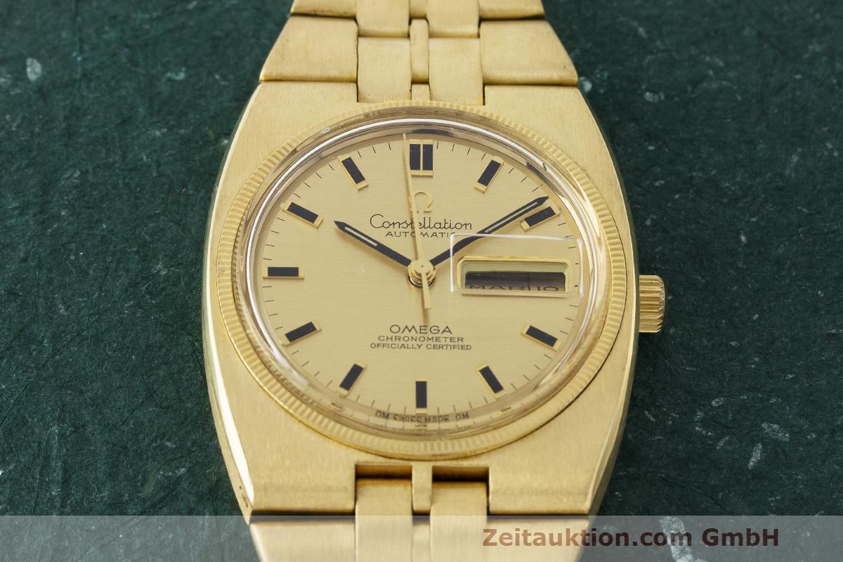 omega constellation 18 ct gold automatic kal 751 ref 168 045 omega constellation 18 ct gold automatic kal 751 lp 30500eur vintage 163383