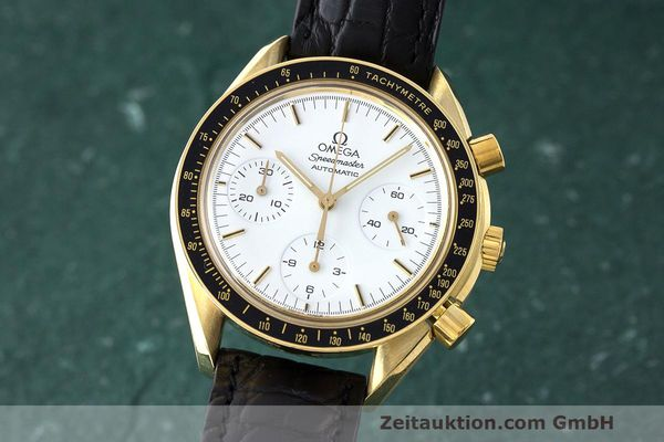 OMEGA SPEEDMASTER CHRONOGRAPHE OR 18 CT AUTOMATIQUE KAL. 1140 LP: 14200EUR [163388]
