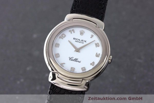 ROLEX CELLINI 18 CT WHITE GOLD QUARTZ KAL. 6620 LP: 8200EUR [163396]