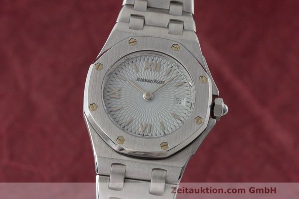 AUDEMARS PIGUET LADY ROYAL OAK EDELSTAHL DAMENUHR E38023 KLASSIKER  [163398]