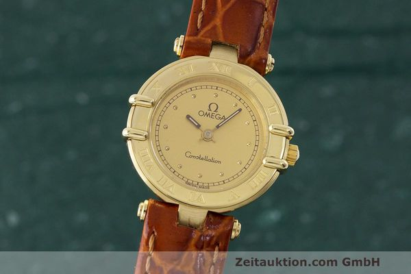 OMEGA CONSTELLATION OR 18 CT QUARTZ KAL. 1455 LP: 0EUR [163410]