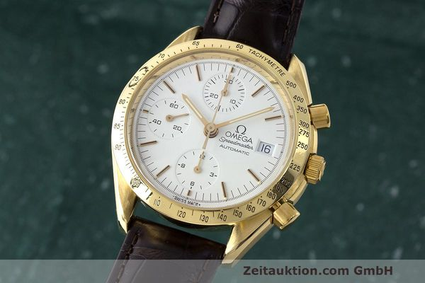 OMEGA SPEEDMASTER CHRONOGRAPHE OR 18 CT AUTOMATIQUE KAL. 1155 ETA 7750 LP: 14200EUR [163411]