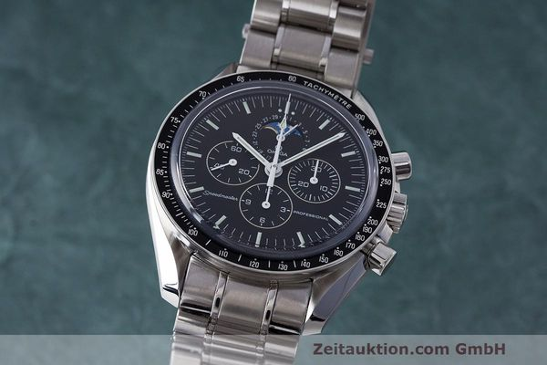 OMEGA SPEEDMASTER MOONWATCH PROFESSIONAL MONDPHASE 35765000 NP: 4900,- EURO [163412]