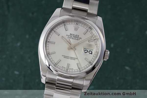 ROLEX DATEJUST STEEL AUTOMATIC KAL. 3135 LP: 6050EUR [163428]