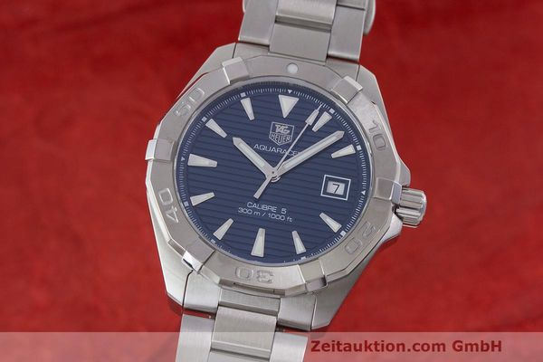 TAG HEUER AQUARACER STEEL AUTOMATIC KAL. 5 SELLITA SW 200-1 LP: 1950EUR [163431]