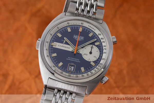 TAG HEUER CARRERA CHRONOGRAPH STEEL AUTOMATIC KAL. 15 VINTAGE [163438]