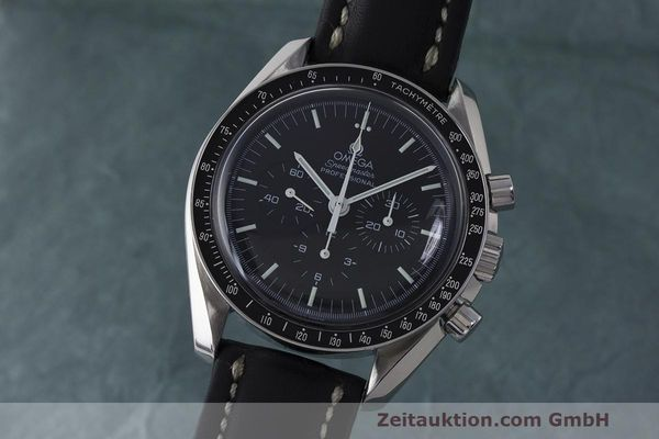 OMEGA SPEEDMASTER CHRONOGRAPH STEEL MANUAL WINDING KAL. 1861 LP: 4200EUR [163478]