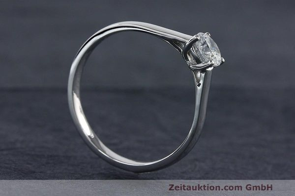 RING 950 PLATIN DIAMANT BRILLANT 0,44 CT DAMENRING DIAMOND WERT: 3904,- EURO [163484]