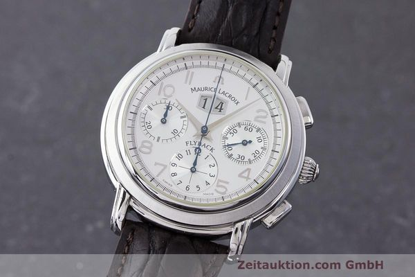 MAURICE LACROIX MASTERPIECE FLYBACK CHRONOGRAPH HERRRENUHR 05826 VP: 3250,- Euro [163485]