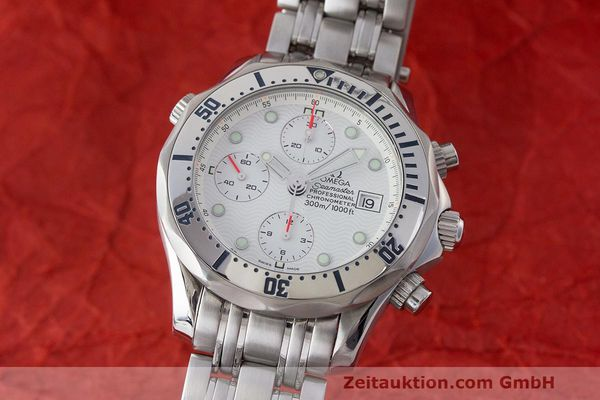 OMEGA SEAMASTER CHRONOGRAPH STEEL AUTOMATIC KAL. 1154 VAL 7750 LP: 4800EUR [163489]
