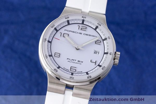 PORSCHE DESIGN FLAT SIX STEEL AUTOMATIC KAL. SELLITA 200-1 LP: 2250EUR [163496]