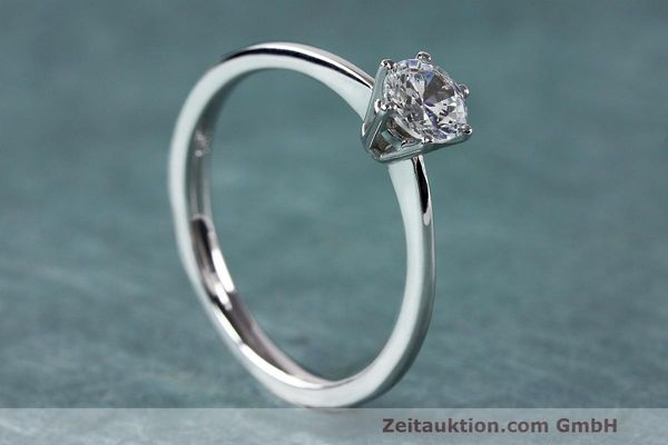 RING 950 PLATIN DIAMANT BRILLANT 0,44 CT DAMENRING DIAMOND WERT: 4474,- EURO [163497]