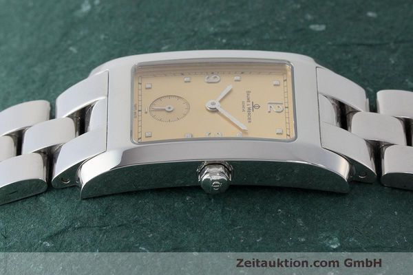 二手奢侈品腕表 Baume & Mercier Hampton 钢质 石英机芯 Kal. BM10163 ETA 980.163 Ref. MV045063  | 163504 05