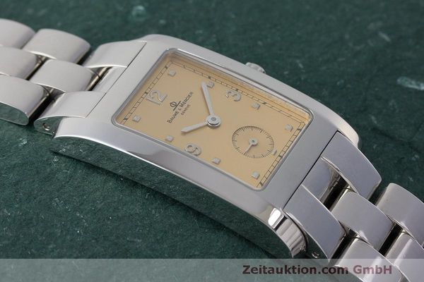 二手奢侈品腕表 Baume & Mercier Hampton 钢质 石英机芯 Kal. BM10163 ETA 980.163 Ref. MV045063  | 163504 12