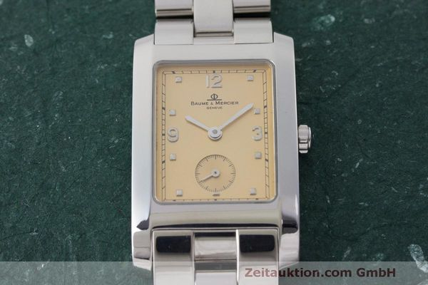 二手奢侈品腕表 Baume & Mercier Hampton 钢质 石英机芯 Kal. BM10163 ETA 980.163 Ref. MV045063  | 163504 13