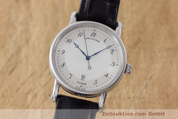 CHRONOSWISS KAIROS STEEL AUTOMATIC KAL. ETA 2892A2 LP: 3700EUR  [163512]