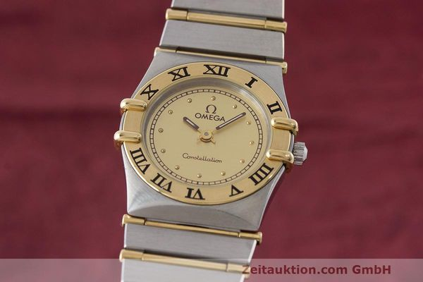 OMEGA LADY CONSTELLATION GOLD / STAHL DAMENUHR 795.1080 VP: 3960,- EURO [163518]