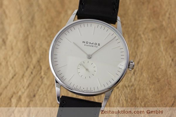 NOMOS ORION STEEL MANUAL WINDING KAL. ALPHA LP: 1960EUR [163537]