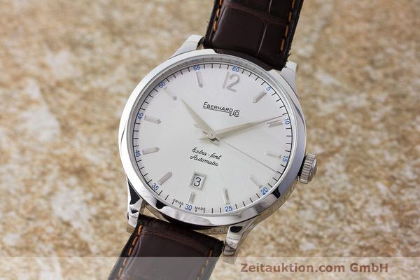 EBERHARD & CO EXTRA FORT STEEL AUTOMATIC KAL. SELLITA SW200 LP: 2150EUR  [163539]