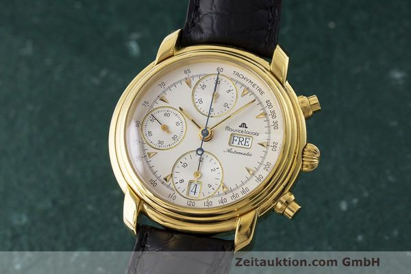 MAURICE LACROIX CRONEO CHRONOGRAPH GOLD-PLATED AUTOMATIC KAL. VAL 7750  [163549]