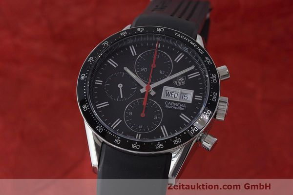 TAG HEUER CARRERA CHRONOGRAPH STEEL AUTOMATIC KAL. 16 SELLITA SW500 LP: 4200EUR [163578]