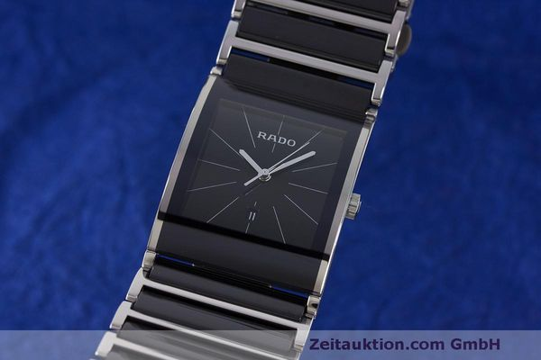 RADO INTEGRAL CERAMIC / STEEL QUARTZ KAL. ETA 256111 LP: 1525EUR  [170045]