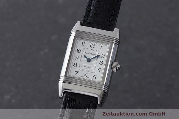 JAEGER LE COULTRE REVERSO STEEL MANUAL WINDING KAL. 844 LP: 9200EUR [170047]