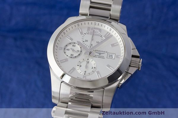 LONGINES CONQUEST CHRONOGRAPHE ACIER AUTOMATIQUE KAL. ETA 7750 LP: 2340EUR  [170061]