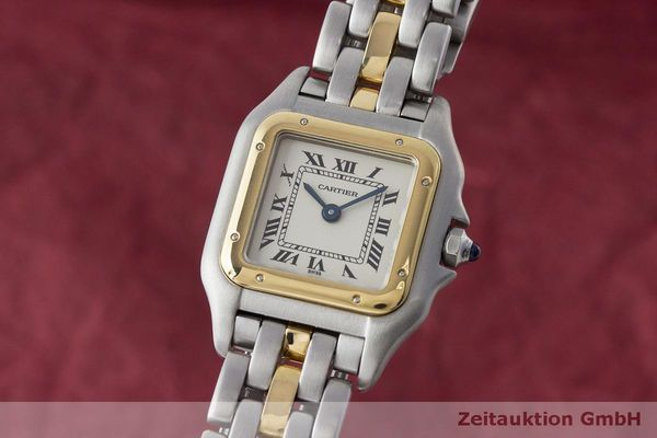 CARTIER PANTHERE ACIER / OR QUARTZ KAL. 57 [170063]