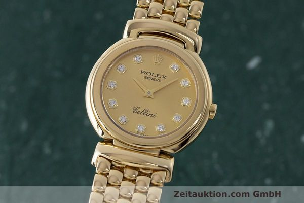 ROLEX CELLINI 18 CT GOLD QUARTZ KAL. 6620 LP: 13350EUR [170065]