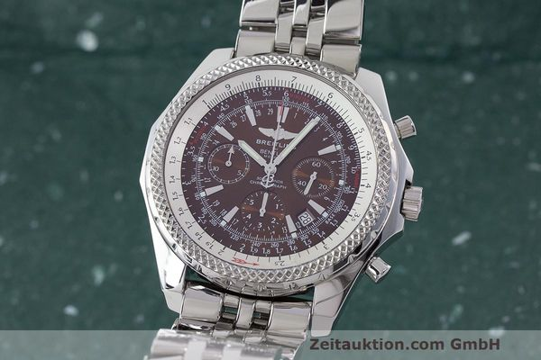 BREITLING BENTLEY CHRONOGRAPHE ACIER AUTOMATIQUE KAL. B25 ETA 2892A2 LP: 9120EUR [170085]