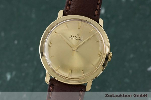 ZENITH OR 18 CT AUTOMATIQUE KAL. 2522P LP: 7400EUR VINTAGE [170092]
