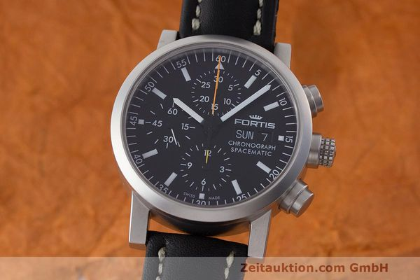 FORTIS SPACEMATIC CHRONOGRAPHE ACIER AUTOMATIQUE KAL. ETA 7750 LP: 2590EUR [170096]