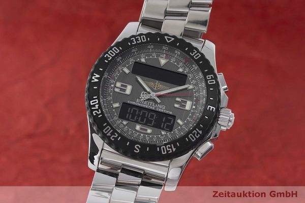 BREITLING AIRWOLF CHRONOGRAPH STEEL QUARTZ KAL. B78 ETA E20.351 LP: 6470EUR [170118]