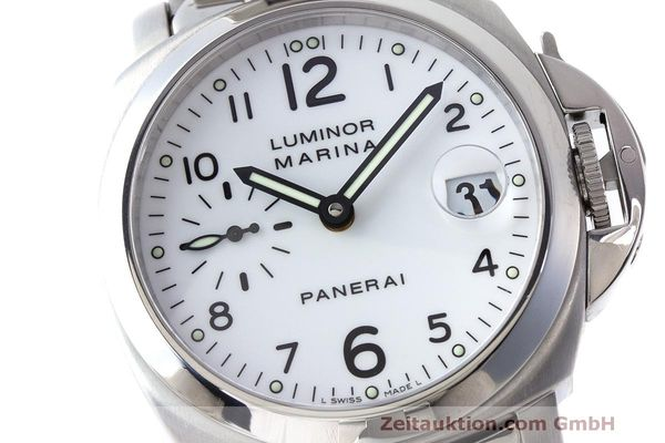 二手奢侈品腕表 Panerai Luminor Marina 钢质 自动上弦机芯 Kal. Eta A05511 Ref. OP6560 LIMITED EDITION | 170123 02