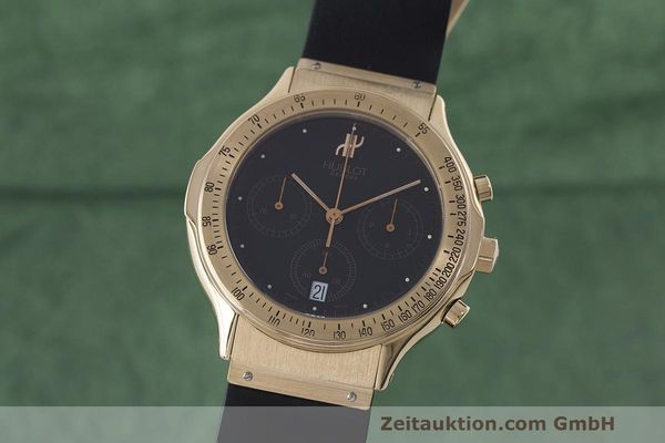 HUBLOT MDM CHRONOGRAPH 18 CT RED GOLD QUARTZ LP: 26900EUR [170126]