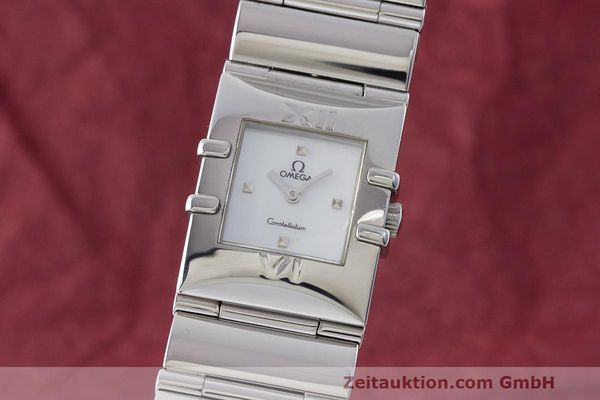 OMEGA CONSTELLATION ACIER QUARTZ KAL. 1376 LP: 2400EUR [170134]