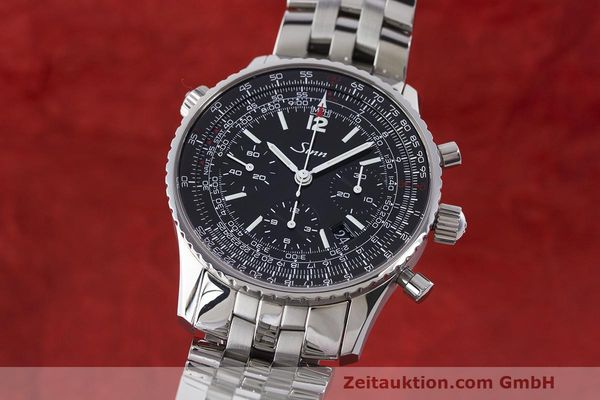 SINN 903 ST CHRONOGRAPH STEEL AUTOMATIC KAL. SELLITA LP: 3050EUR  [170149]