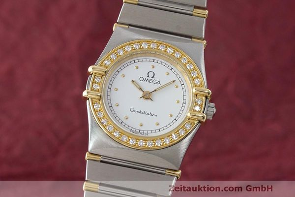 OMEGA LADY CONSTELLATION DIAMANTEN GOLD / STAHL DAMENUHR VP: 5900,- EURO [170182]