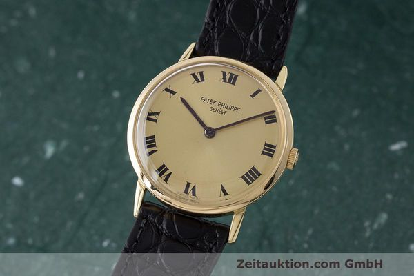 PATEK PHILIPPE CALATRAVA 18 CT GOLD MANUAL WINDING KAL. 23-300 LP: 15980EUR VINTAGE [170184]