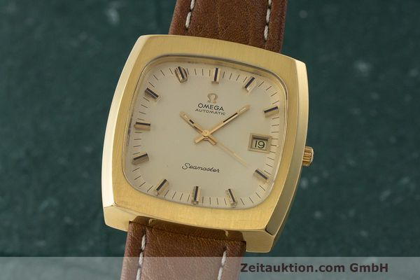 OMEGA SEAMASTER GOLD-PLATED AUTOMATIC KAL. 1012 VINTAGE [170194]