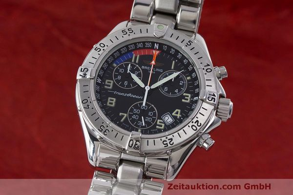 BREITLING TRANSOCEAN YACHTING SHARK CHRONOGRAPH HERRENUHR A53040.1 VP: 2740,- Euro [170222]