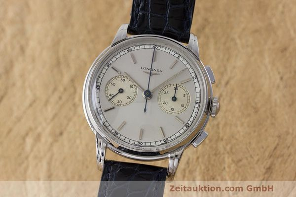 LONGINES CHRONOGRAPH STEEL MANUAL WINDING KAL. 30CH VINTAGE [170226]