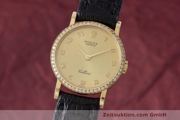 ROLEX CELLINI ORO 18 CT CARICA MANUALE KAL. 1601 LP: 8200EUR [170233]