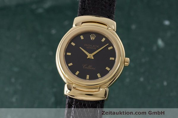 ROLEX CELLINI ORO 18 CT QUARZO KAL. 6621 LP: 8200EUR [170234]