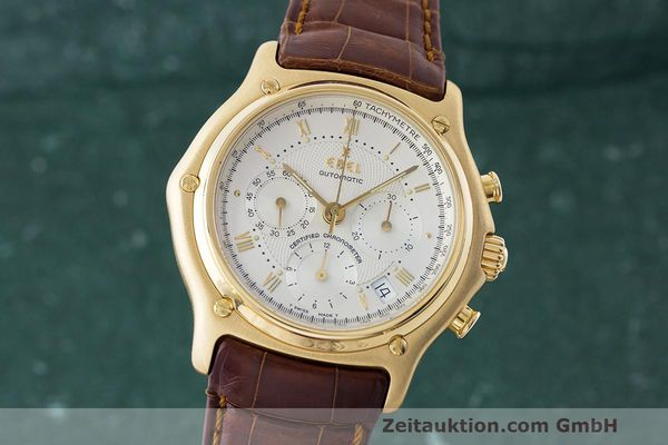 EBEL 1911 CHRONOGRAPH 18 CT GOLD AUTOMATIC KAL. 137 [170240]
