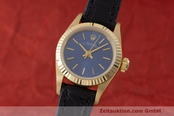 ROLEX OYSTER PERPETUAL 18 CT GOLD AUTOMATIC KAL. 2130 LP: 20600EUR [170242]